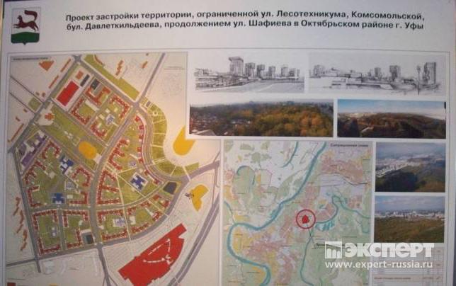 Расположение на схеме города.